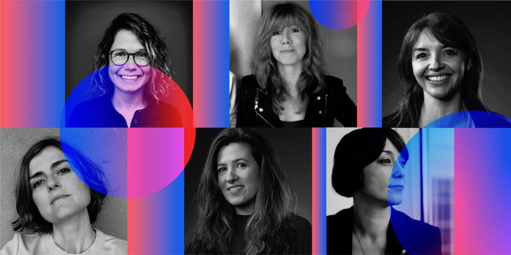 Seis directoras creativas, mujeres publicistas