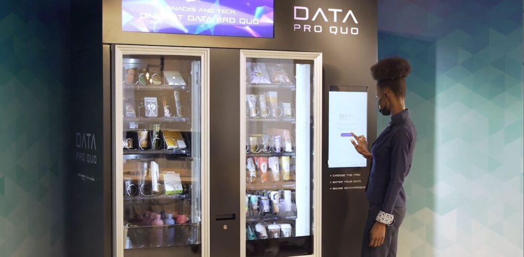 Data Pro Quo la primera máquina de vending en la que se paga con datos